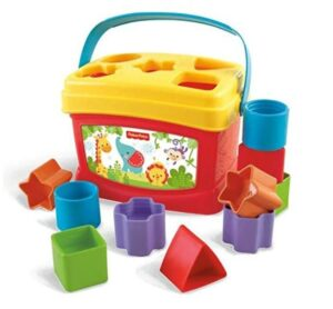 Shape sorter toys can help in occpational therapy