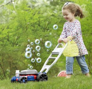 best outdoor bubble mower for garden play