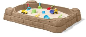 Garden playset sandbox for kids 1 year old and up
