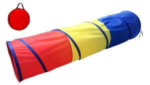 Play tunnel for kids to improve physical development