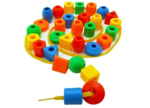 beads for toddlers to refine motor skills