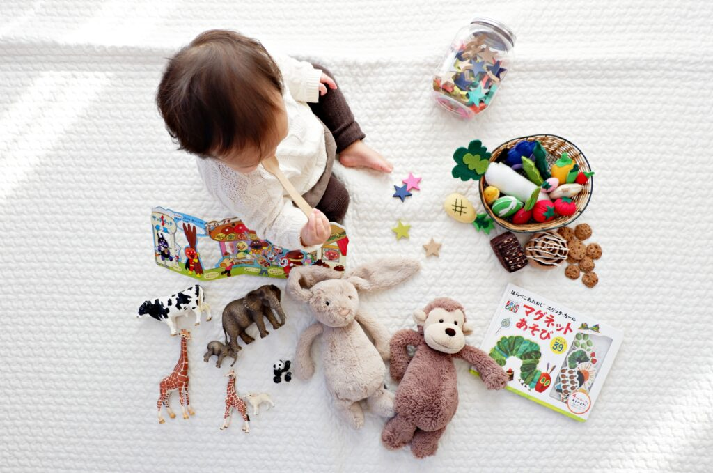 why toddlers are possessive over toys