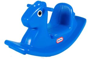 affordable plastic horse toy with easy grip handles