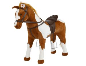 Stable stuffed horse toys for toddlers that they can ride